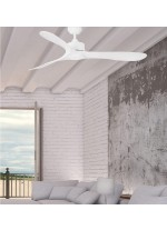 Ceiling fan without light available in 2 finishes with 3 speeds - Luzon – Faro
