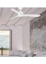 Ventilador de techo sin luz disponible en 2 acabados con 3 velocidades – Luzon – Faro