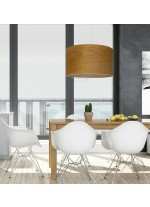 Wood pendant lamp available in 3 finishes 35 cm – Madera – IDP Lampshades