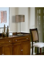 Wood table lamp available in 3 finishes – Madera – IDP Lampshades