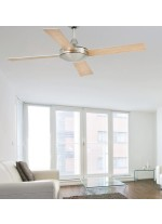 Ceiling fan without light 4 reversible blades available in 3 finishes - Mallorca – Faro