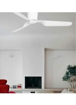 3 blade ceiling fan available with or without light and in 3 finishes - Pemba – Faro