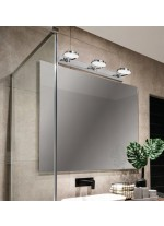 LED metal bathroom light with 3 lights 3200K IP 44 - Sara - ACB Iluminación