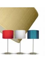 Silk table lamp in 3 colours 40 cm – Seda – IDP Lampshades