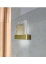 Modern wooden LED Wall light - Skyline