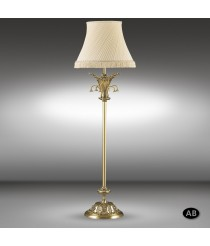 Classic floor lamp available in 2 finishes 1 light - Royal - Riperlamp