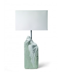 Porcelain Table Lamp – Meditating Woman II – Lladró
