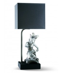 Porcelain Table Lamp – Bali Dancer Kneeling – Lladró