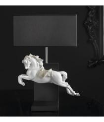 Porcelain Table Lamp – Horse on Pirouette – Lladró