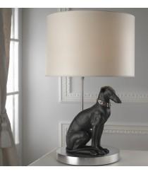 Porcelain Table Lamp – Pensive Greyhound – Lladró
