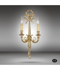 Brass wall lamp in 3 finishes - Riperlamp