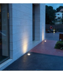 Outdoor recessed floor light – Glass Dopo – Novolux