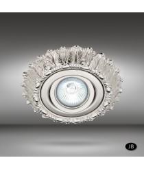Brass recessed ceiling lamp LED in 6 finishes Ø 15 cm - Brigite - Riperlamp