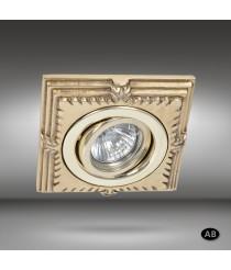 Spotlight LED Ø 12,5 cm in 6 finishes - Katia - Riperlamp