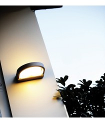 Outdoor wall light – Dark Dopo – Novolux