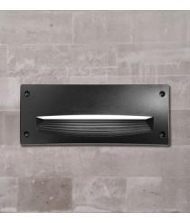 Outdoor recessed wall light – Devon Dopo – Novolux