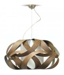 Kim. Pendant Lamp Walnut Wood