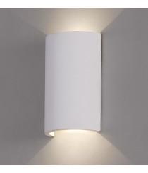 Matt white-finished plaster wall lamp 3200K – Axel – ACB Iluminación
