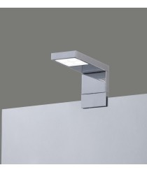 LED chrome metal bath mirror light IP 44 – Nero – ACB Iluminación