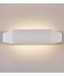 LED white metal wall lamp in 2 sizes 3200K – Emma – ACB Iluminación