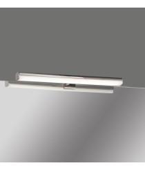 LED chrome metal bathroom wall light in 3 sizes 4200K IP44   – Dustin – ACB Iluminación