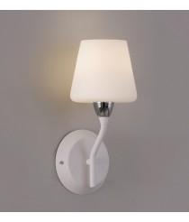 White metal and double layer glass wall light – Dacia – ACB Iluminación
