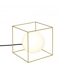 Wire table lamp