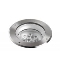 IP67 LED aluminium outdoor walkover light Ø 22 cm - Libeccio - Dopo - Novolux