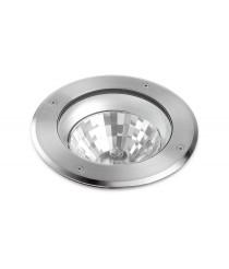 IP67 outdoor recessed floor light Ø 22 cm - Libeccio - Dopo - Novolux