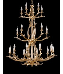 Bronze Chandelier 20 Lights