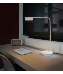 Metal table lamp with 350° adjustable LED intensity and 3 finishes 3000K - Academy – Faro