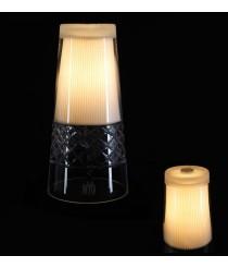 Lámpara de mesa de cristal liso, tallado o matizado – Cone – MYO