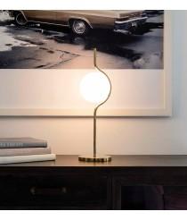 Tabletop gold structure with glass diffuser - Le Vita – Faro