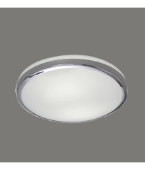 Metal and double layer glass ceiling lamp IP 44 – Alb – ACB Iluminación
