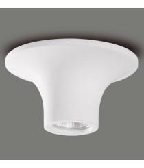 White plaster ceiling lamp – Vania – ACB Iluminación