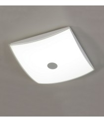 LED metal and glass ceiling lamp – Asis – ACB Iluminación