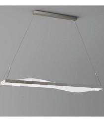 LED aluminum pendant lamp 100 cm – Curve  – ACB Iluminación