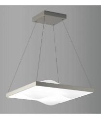 LED aluminum pendant lamp 50 cm – Curve – ACB Iluminación