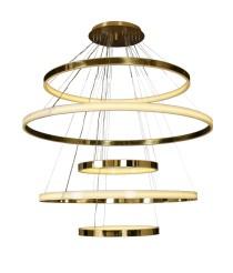 Lámpara de techo LED de bronce con 5 luces 3000K – Zero – MYO