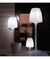 Vases lámpara de pie con cable