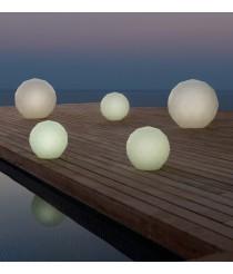 Vases esfera con batería