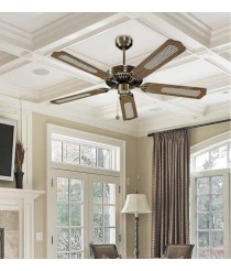 Reversible ceiling fan without light - Cook  - Massmi