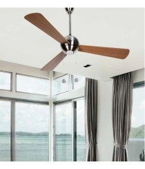 Decorative ceiling fan with light - Lagon - Massmi