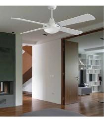 Noiseless ceiling fan with remote control - Loft - Massmi