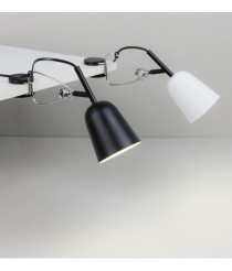 Lamp with metal clamp and ABS in 4 finishes - Studio – Faro