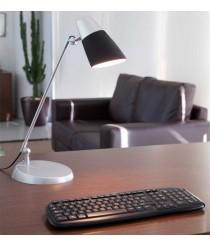 Aluminium and polycarbonate table lamp - Leo – Faro