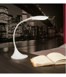 Minimalist metal LED table lamp with adjustable intensity in 2 finishes 4000K - Otto – Faro