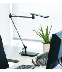 Flexible aluminium LED table light 3000K with clamp - Ito – Faro