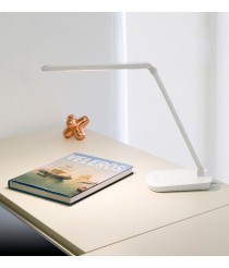 Dimmable ABS LED table lamp with USB plug in 2 finishes 4000K - Anouk – Faro