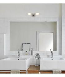 Aplique de baño de cristal para espejos IP44 - Relax - Faro